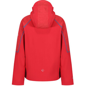 Regatta Acidity II Jacket Kids Coral Blush/Coral Blush Reflective/Pluto